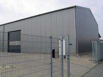 HWB Metall, Außenaufnahme Produktion, Industriegebiet Niederkrüchten Dam